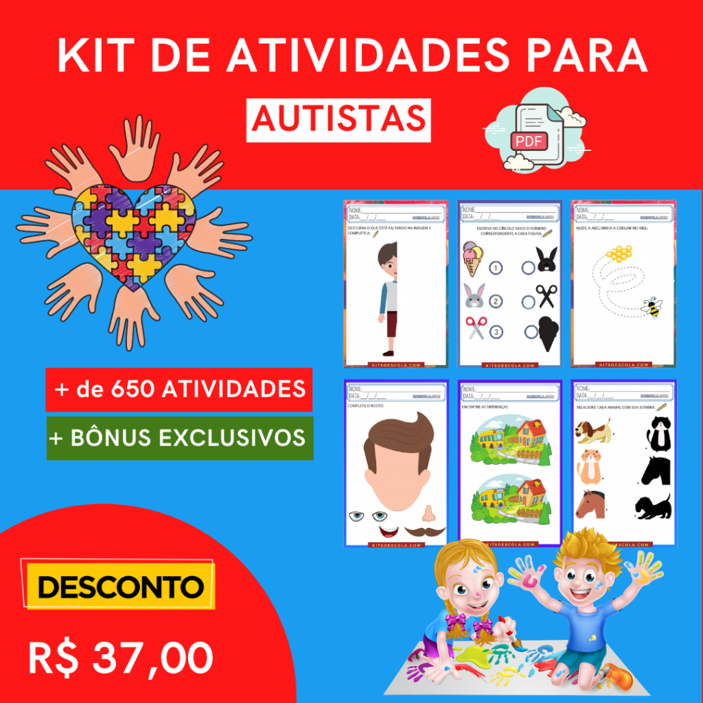 Kit Só Escola Autismo